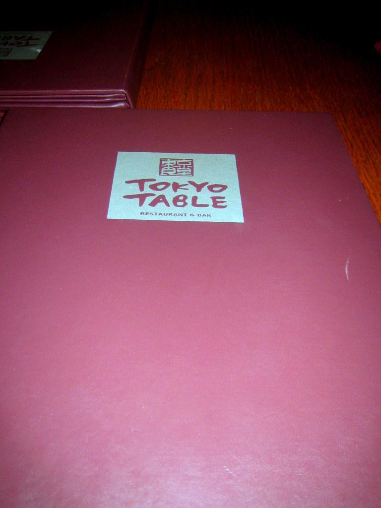 20081206-Tokyo Table 01